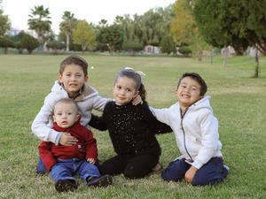 Artemio, María, Roberto y Julio