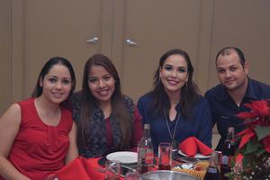Ana Luisa, Eunice, Sheila e Israel