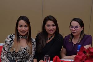 Clara, Eunice y Laura