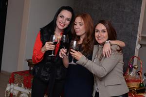 24122016 Berenice Ramírez, Paola Bañuelos y Liliana Rodríguez.