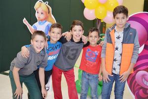 24122016 Santiago, Santiago, Lucas, Roque y Diego.