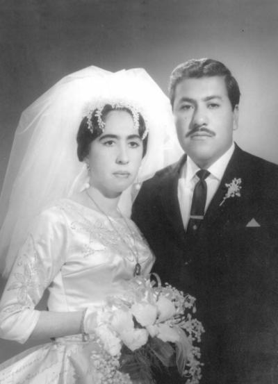 25122016 Olga Eva Préstamo Gaytán y Sr. Francisco Malacara Córdova contrajeron matrimonio el 10 de diciembre de 1966. Actualmente, festejan 50 años de matrimonio.