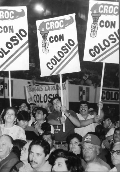 25122016 Lic. Alfonso López Blanco participando activamente como priista desde 1980, participó en la campaña para Presidente de la República del Lic. Luis Donaldo Colosio en 1993 en Torreón, Coahuila.