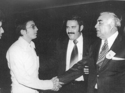 25122016 Don Óscar Flores Tapia, Jesús Reyes García y Jesús Rodríguez.