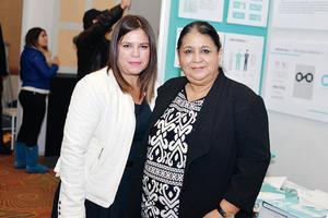 25122016 EN RECIENTE EVENTO.  Lucía y María Guadalupe.