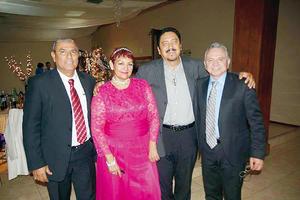 25122016 Demetrio Zúñiga, Martha Robles, José Luis Carrillo y Alfonso Valenzuela.