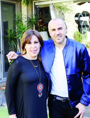 26122016 EN FESTEJO.  Nenabel y Ricardo Seco.
