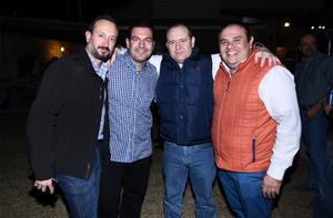 28122016 Fernando, Luis, Carlos y Fernando.