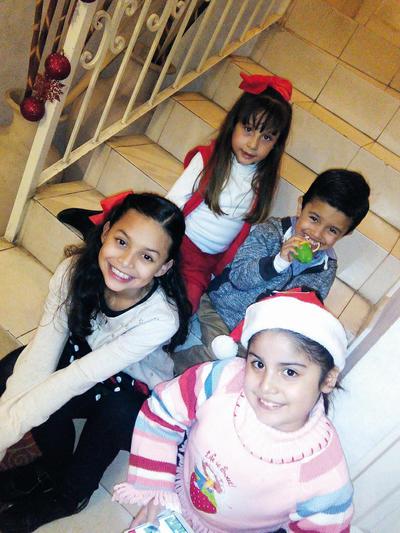 29122016 Ivanna, Fernando, Paulina y Lia.