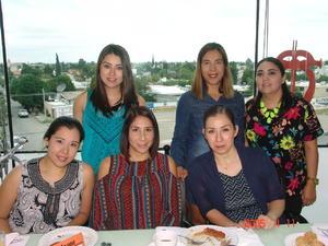 29122016 Alondra, Norma, Laura, Aurora, Alba y Marcela.