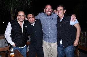 30122016 Jan, Benjamín, Alejandro y Pablo.