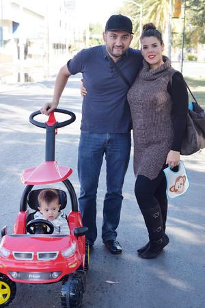 30122016 Emiliano, Javier y Carolina.