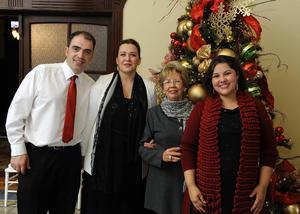 31122016 Loseb Gamilagdishvili, Mariana Chabukiani, Aurorita Máynez y Luz Alicia.