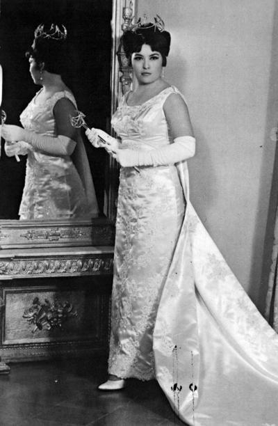 01012017 Lita I, reina de los Caballeros de Colón en la década de los 60.
