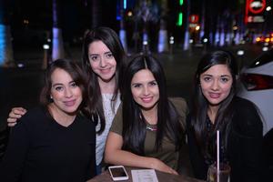 02012017 Rosy, Paulina, Gaby y Luisa.