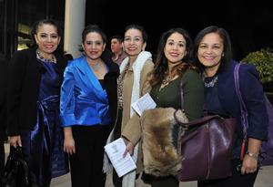 02012017 Gladis, Carolina, Griselda, Gris y Lilia.