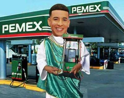El tema musical La Gasolina del rapero Daddy Yankee, fue otra representación de los memes en las redes sociales.