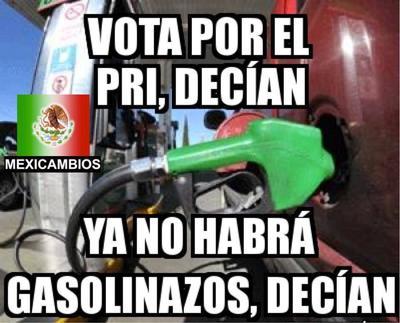 La pronunciada subida del precio de la gasolina en enero y el desabastecimiento en varios estados se ha traducido en un creciente descontento de la ciudadanía y de las redes sociales, culpando así al gobierno y a su partido.