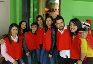 04012017 Eunice, Denisse, Carolina, Yazmín, Jazmín, Andrés y Daniela.