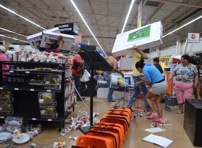 La Asociación Nacional de Tiendas de Autoservicios y Departamentales (ANTAD) reportó 79 establecimientos saqueados además de 170 tiendas bloqueadas por inconformes.