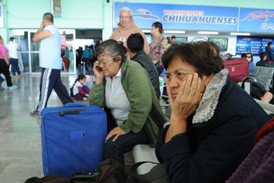 La suspensión de los viajes inició desde martes y se desconocía la fecha en la que la actividad se reanudará de manera normal.