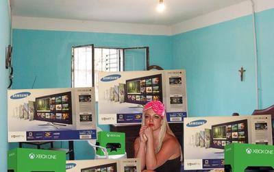 Brintey Spears fue otra más de las personas que saqueraron los comercios, según usuarios de las redes sociales.