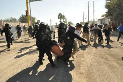 Las detenciones fueron producto de cuatro enfrentamientos entre ciudadanos y elementos de Fuerza Coahuila, registrados a lo largo del día.