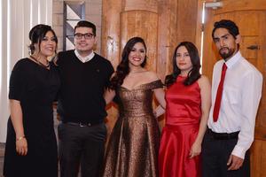 06012017 EN UNA BODA CIVIL.  Karla, Carlos, Gabriela, Laura y Dante.