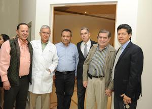 07012017 Mauricio Casas, Luis Ignacio Gurza, Raúl Verano, Guillermo Siller, Carlos Hernández y Juan Pérez.