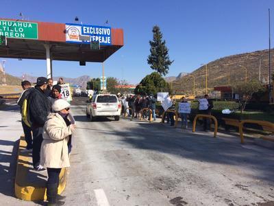 Organizaciones sociales se unieron en contra del gasolinazo.