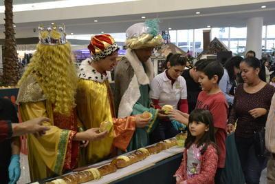 Un año más, el centro comercial Paseo Durango festejó el Día de Reyes.
