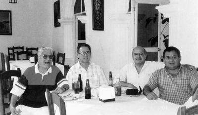 08012017 Alfredo Medrano, Juan Yáñez (f), Francisco Rodríguez y Arturo Arenas.