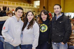 08012017 Arturo, Andrea, Alejandra y Mauricio.