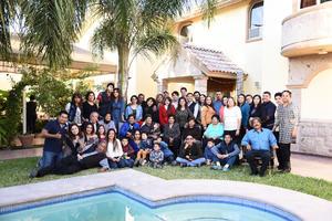08012017 REUNIóN FAMILIAR.  Familias Romero Adame, Adame Ruvalcaba, Álvarez Adame, García Adame y Adame Arreola.