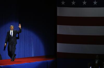 """El líder de Estados Unidos agradeció al pueblo por hacerlo un """"mejor hombre""""."""