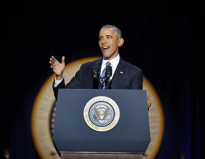 El presidente de Estados Unidos afirmó que la transición del poder será realizada de forma pacífica.
