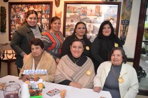 11012017 Mayra, Altaf, Cristy, Alina, Dolores, Laura e Irma Eugenia.