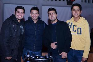 11012017 Alejandro, Gerardo, César y Miami.