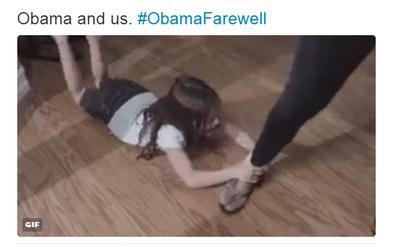 Según los usuarios de las redes sociales, todos los que extrañarán a Obama estarán de esta manera.