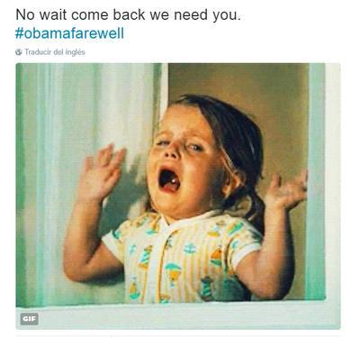 'No, espera, no te vayas, te necesitamos' comentaban los usuarios en redes sociales.