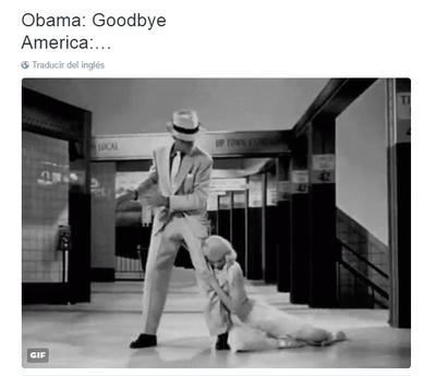 Todo América así querían estar, tras discurso de Obama, según tuiteros.