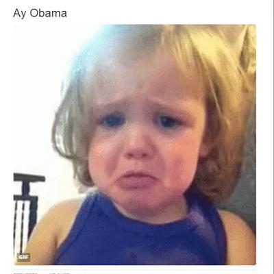 Los usuarios se mostraban tristes ante las palabras del presidente de EU.