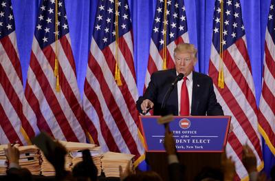 Terminó luego su discurso inicial agradeciendo lo ocurrido en noviembre de 2016 cuando fue electo presidente y dio paso a las preguntas de la prensa.