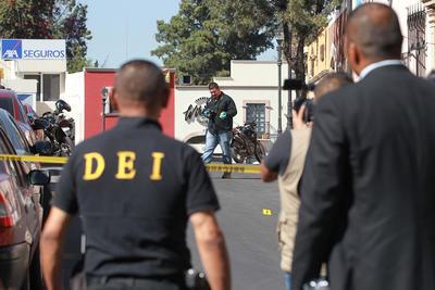 Serán las instancias legales quienes determinen lo que proceda contra la persona que se captó en el video al momento de disparar.