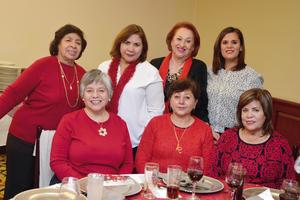 12012017 JARDINERAS.  Lety, Marielena, Tita, Sofy, Paty, Ale y Luzma.