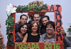 12012017 José, Lety, Rocío, Conchis, Humberto y Roberto.