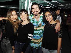 13012017 Samantha, Sofía, Marco y Gaby.
