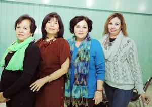 14012017 Rosy, Chepis, Bertha y Ana María.