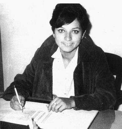 15012017 Lety Rodríguez en la década de los 70.