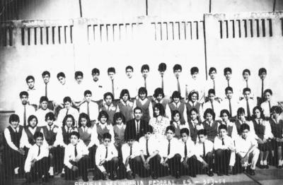 15012017 Escuela Secundaria Federal Número 1 Sección B en 1963.